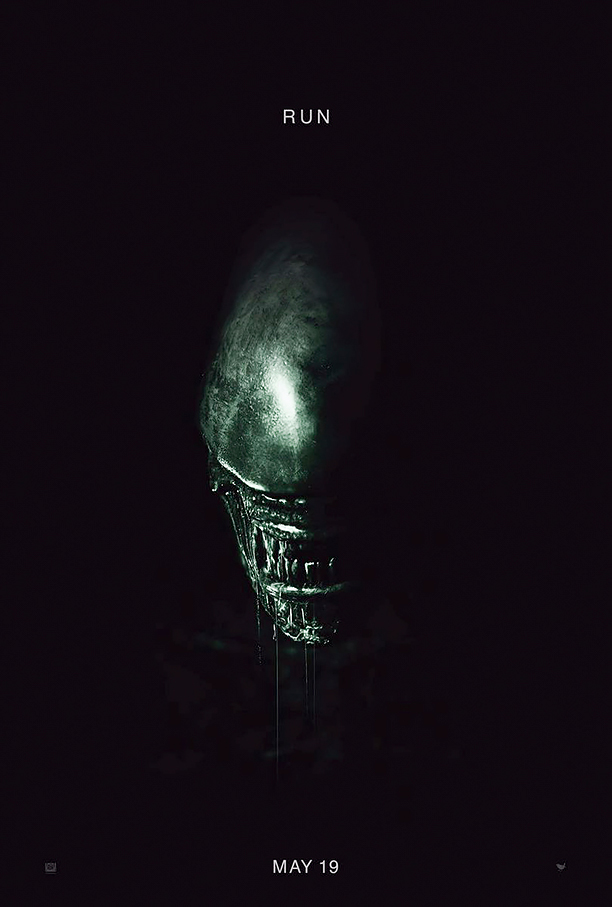 ALIEN COVENANT (2017) movie poster