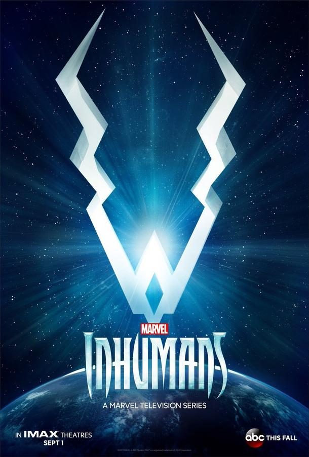 The Inhumans announcement poster.