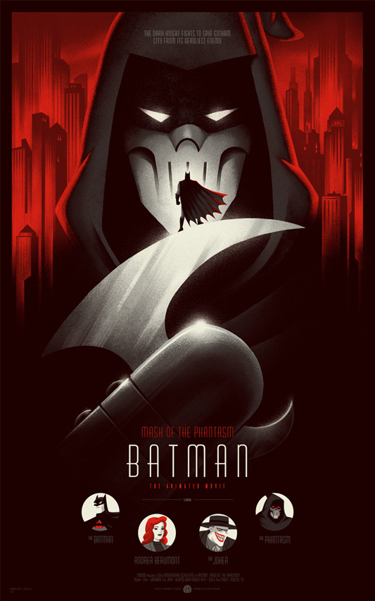 The Batman: Mask of the Phantasm poster.