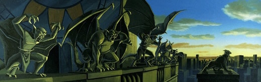 "The epic saga of the Gargoyles, a mythic clan of winged creatures -- who come alive at night and turn to stone at sunrise -- continues with all-new adventures entitled, ""Gargoyles: The Goliath Chronicles,"" coming to ABC Saturday Mornings, beginning September 7 at 11:30 AM (ET)/10:30 AM (PT). For additional information contact: Ray Slay Director, Photography Walt Disney Television DD. 818.560.4168 FX. 818.566.6566 E-Mail. ray_slay@studio.disney.com"